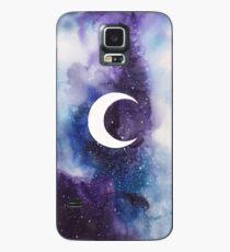 Funda/vinilo para Samsung Galaxy espacio (luna creciente)