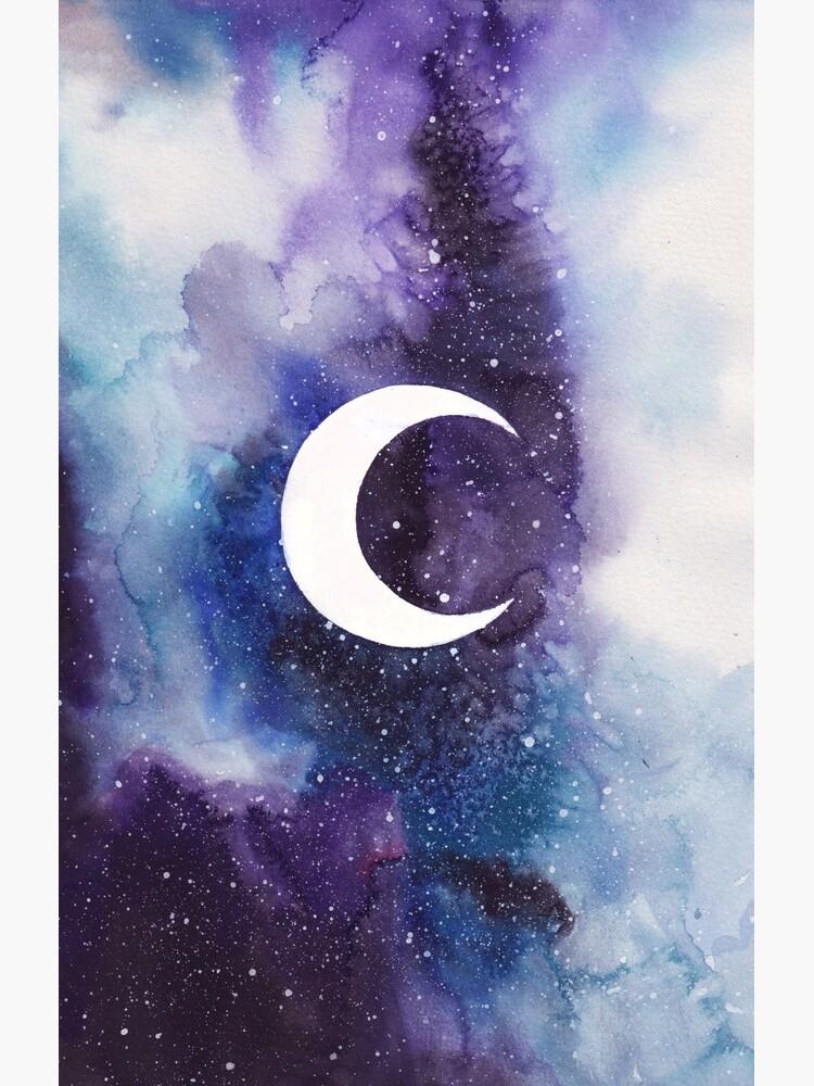 Raum (Mondsichel) von girlinthebigbox