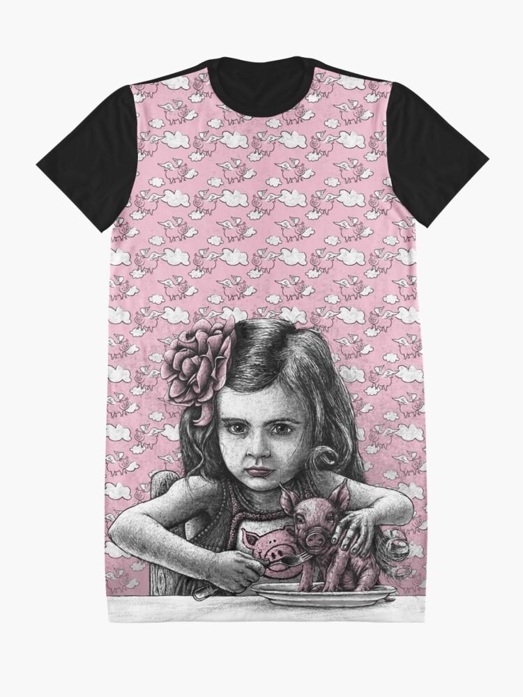 Alternative Ansicht von PAULA T-Shirt Kleid
