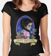 Ma Petite (color) Women's Fitted Scoop T-Shirt