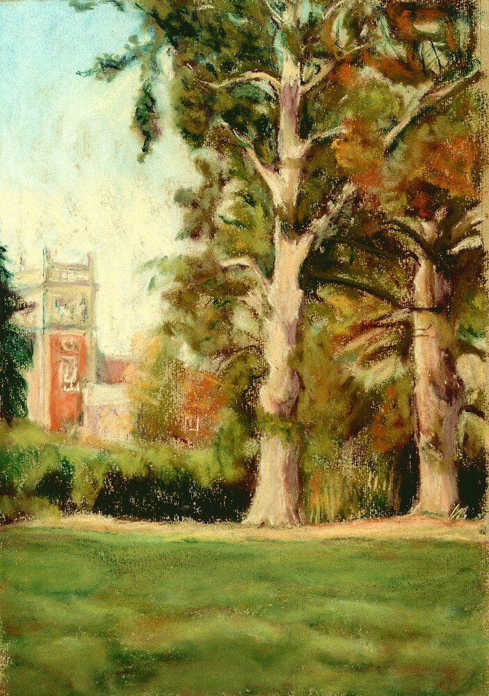 Somerleyton Hall, Suffolk by Judy Adamson