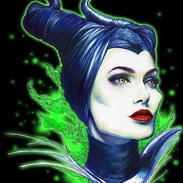 Maleficent by girlinthebigbox