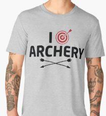 I Love Archery Men's Premium T-Shirt