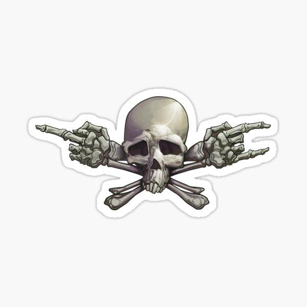 Fcuk Yeah Jolly Roger Sticker
