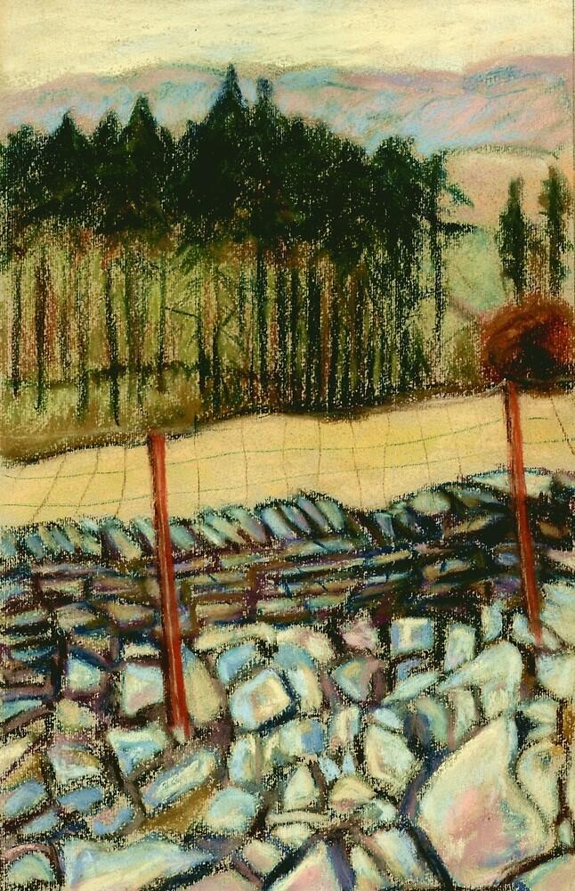 A North Yorkshire Landscape by Judy Adamson