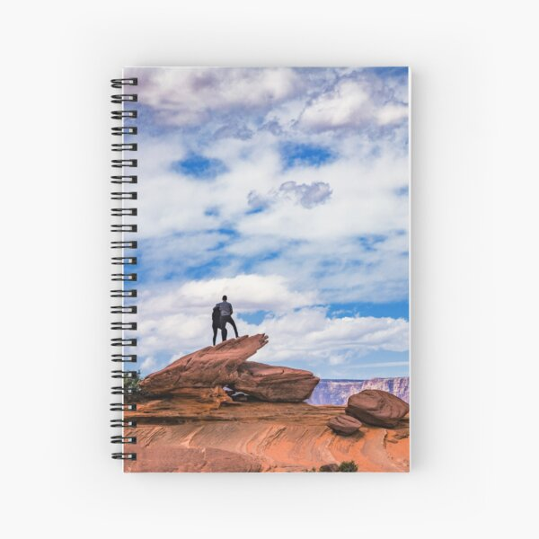 Above the Canyon Together Spiral Notebook