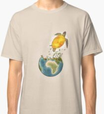 Climate changes the nature Classic T-Shirt