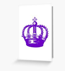 Her Majesty's Crown, The Queen Greeting Card