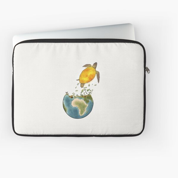 Climate changes the nature Laptop Sleeve