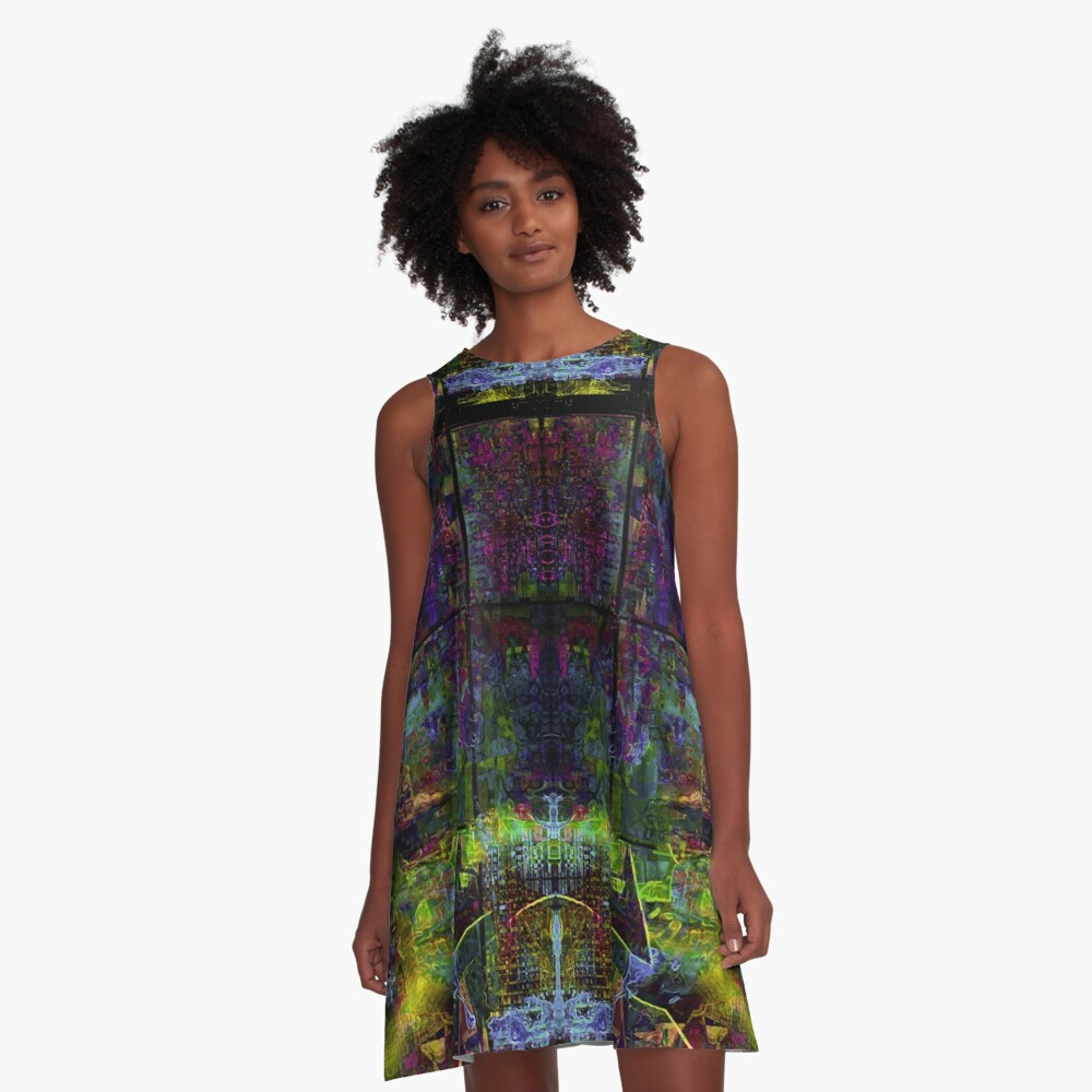 Some Scottish Songs A-Line Dress Front