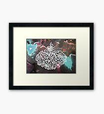 Bismillah Water colour Framed Print