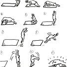 Gym Bunny Burpee by lwcomic