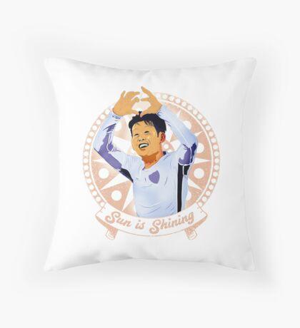 Son Heung Min COYS Throw Pillow