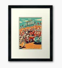 24 hours of Le Mans Framed Print