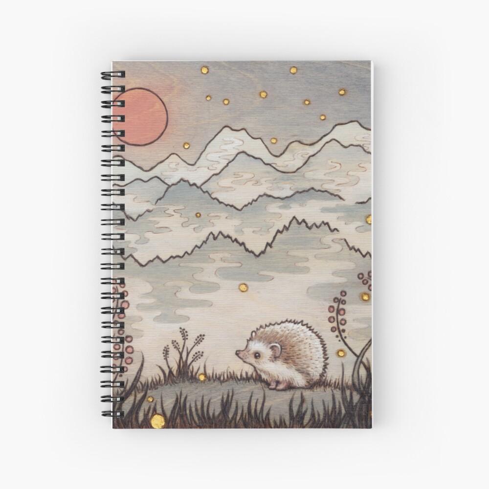 Hedgehog in the Fog Spiral Notebook