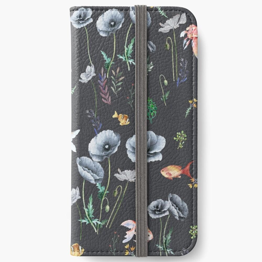 Fishes & Garden iPhone Wallet