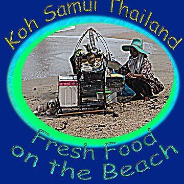Thai Beach Food by DAdeSimone