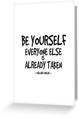 Marvelous Be Yourself Quote   Oscar Wilde By InspiredQuotes