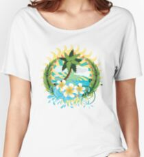 Tropic island Women's Relaxed Fit T-Shirt