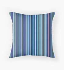 Old Skool Blues Throw Pillow