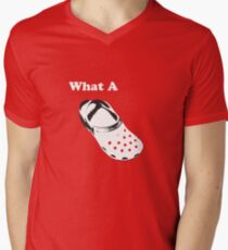 What A Croc Men's V-Neck T-Shirt