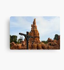 The Wildest Ride in the Wilderness Canvas Print