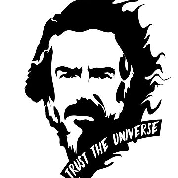 Alan Watts Mind Trust the Universe by fuseleven