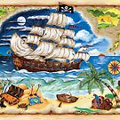 Pirate Ship by RuthBaker