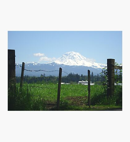 Rainier Country Photographic Print