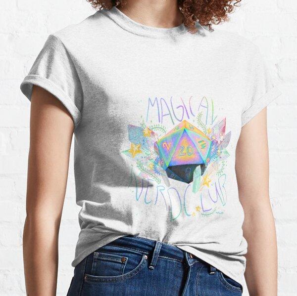 Club nerd mágico Camiseta clásica