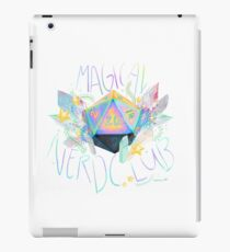 Magical nerd club iPad Case/Skin