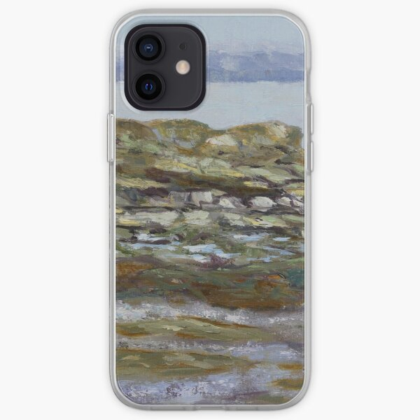 Transcribing January's notes from the sea iPhone Soft Case