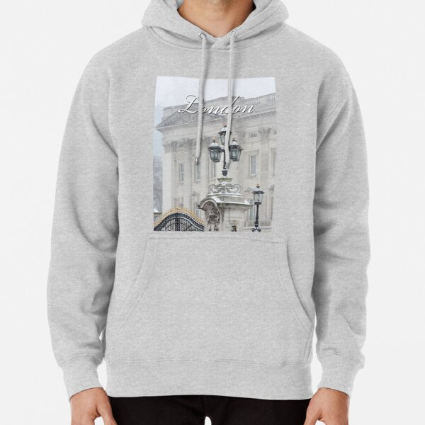 Buckingham Palace in the Snow - Pro Photo Pullover Hoodie