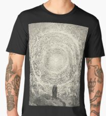 Dante, Heaven, Heavenly, The Divine Comedy, Gustave Doré, Highest, Heaven Men's Premium T-Shirt