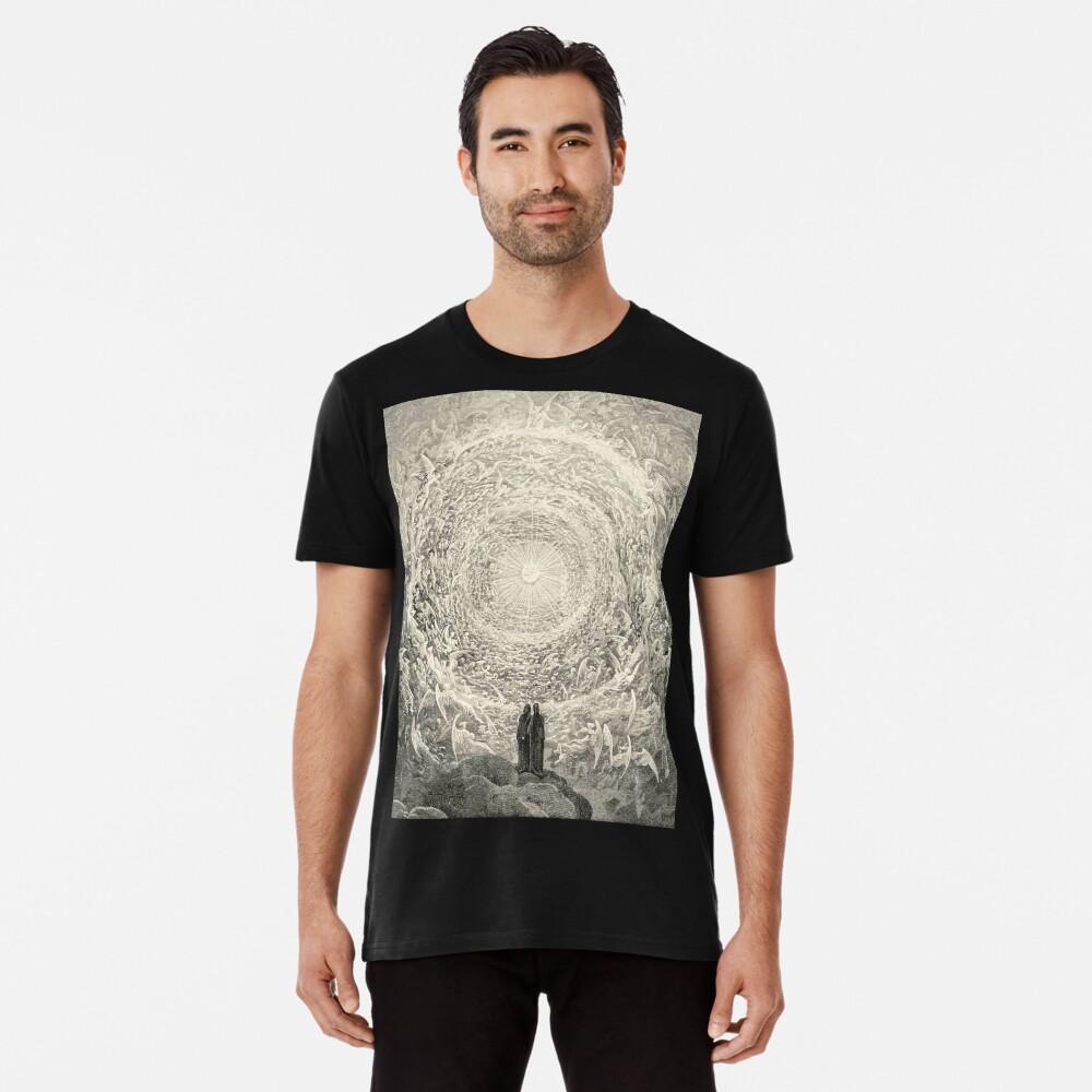 Dante, Himmel, Himmlische, Göttliche Komödie, Gustave Doré, Höchste, Himmel Premium T-Shirt