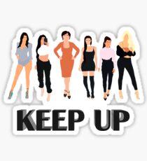 Keep Up Sticker