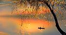 Fishing Sunset by Igor Zenin