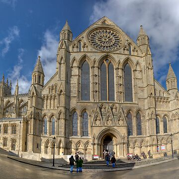 York Minster HDR Panoramic by tommysphotos