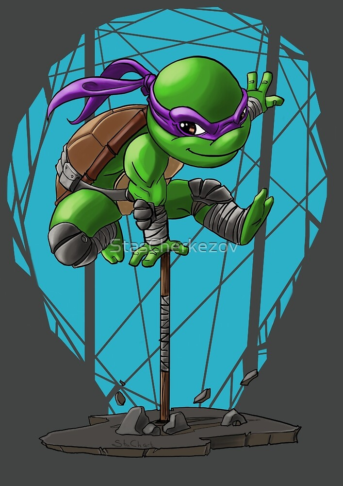Tmnt Donnie by StasCherkezov