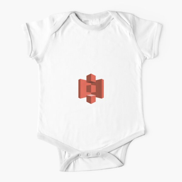 AWS S3 Short Sleeve Baby One-Piece