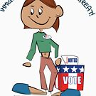 Immigrants Vote With You! by borderbandit