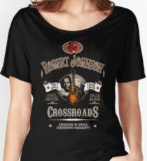Robert Johnson Devil Driven Delta Blues  Women's Relaxed Fit T-Shirt