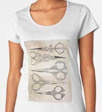 Scissors Women's Premium T-Shirt
