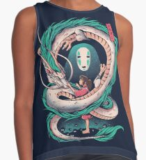 The girl and the dragon Sleeveless Top