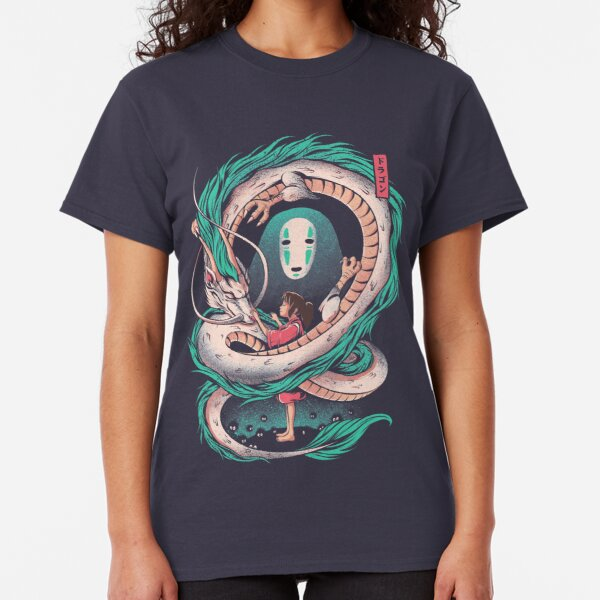 The girl and the dragon Classic T-Shirt