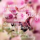 Tell Me About Your Baby by Nathalie Himmelrich