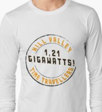 Hill Valley Time Travellers  Long Sleeve T-Shirt