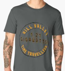 Hill Valley Time Travellers  Men's Premium T-Shirt