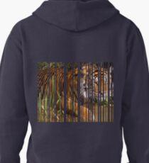 Tiger, hidden between stripes T-Shirt