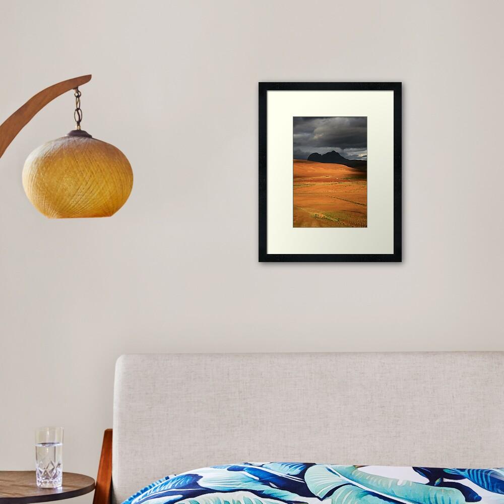 Suilven  Shadow Framed Art Print